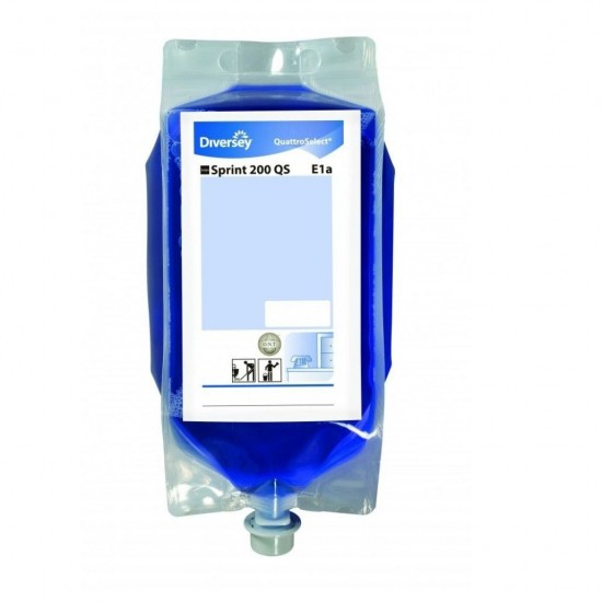 Detergent suprafete lavabile, TASKI Sprint 200 QS, Diversey, 2.5L