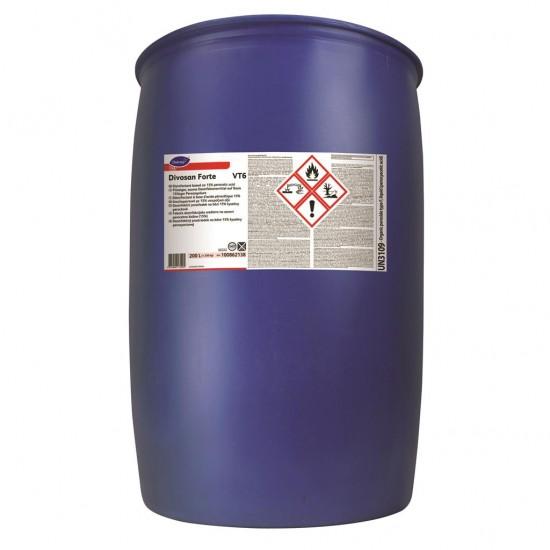 Dezinfectant puternic cu acid peracetic 15%, DIVOSAN FORTE, Diversey, 200L