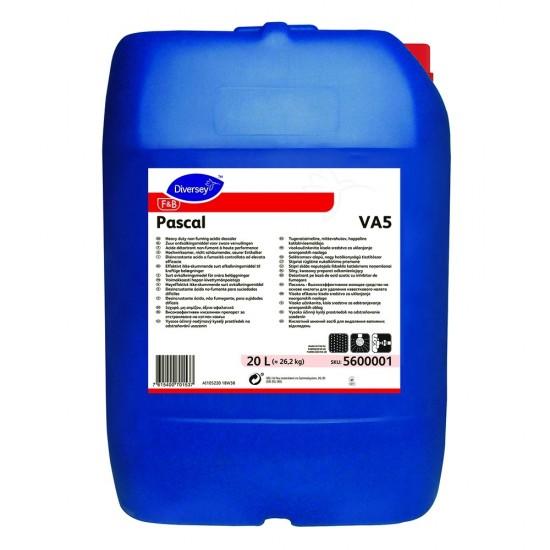 Detergent detartrant puternic Pascal, Diversey, 20L