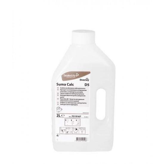 Detergent detartrant bucatarie SUMA Calc D5, Diversey, 2L