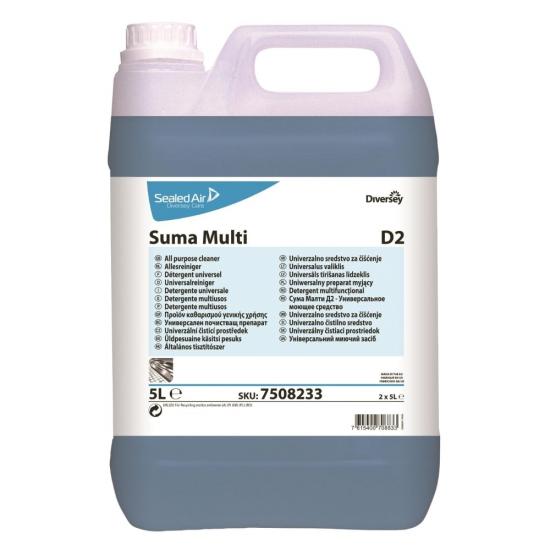 Detergent universal bucatarie SUMA Multi D2, Diversey, 5L