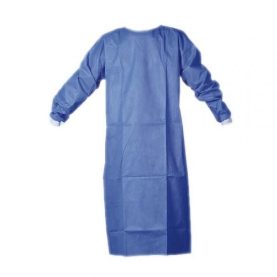 Halat protectie, albastru, 40g/mp, Spunbond netesut, ambalare individuala