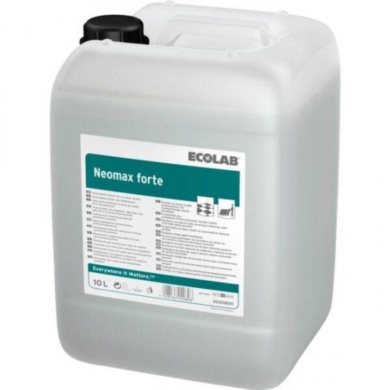 Detergent alcalin pentru masini de spalat pardoseli, Ecolab Neomax FORTE, 10l