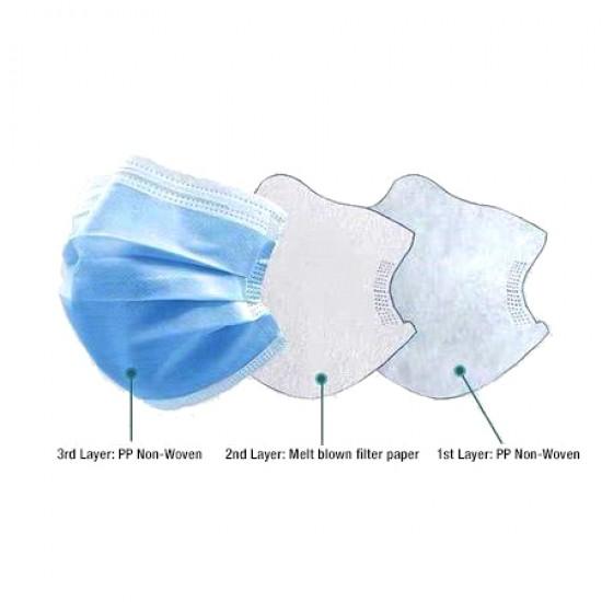 Calitate Superioara - Masca medicala 3 straturi - aviz ANMDMR