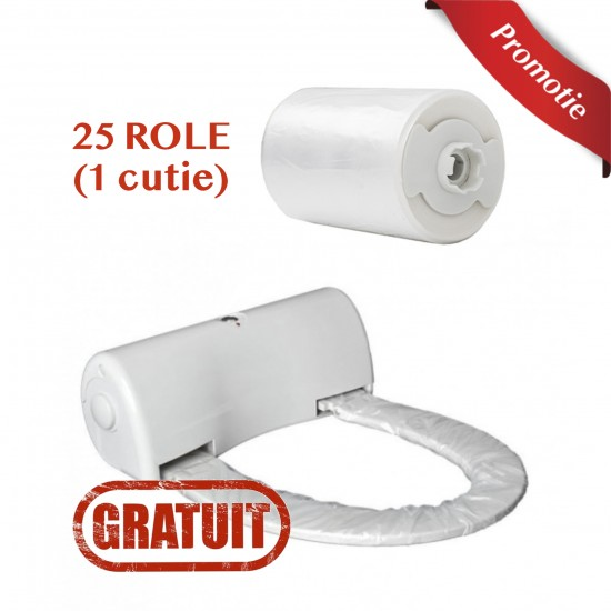 Pachet 1 Cutie 25 Role + 1 Capac Igienic GRATUIT