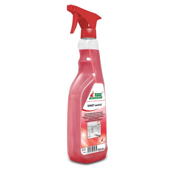 Detergent SANET Sanicid pentru spatii sanitare, 750ml