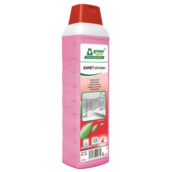 Detergent ecologic concentrat spatii sanitare SANET Zitrotan, 1L