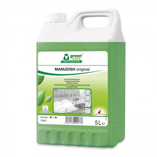Detergent ecologic pentru vase, MANUDISH original, 5L
