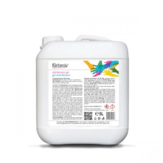 Gel dezinfectant pentru maini Klintensiv, 5 L