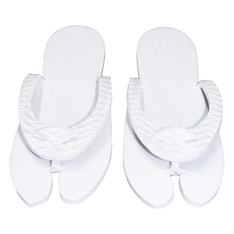 Papuci Dama Pentru Spa Sau Piscina Albi Talpa 7mm Hl 46 sanito.ro