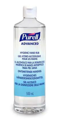 Gel Dezinfectant Purell Advanced 500ml Flacon Cu Picurator Fara Pompita sanito.ro