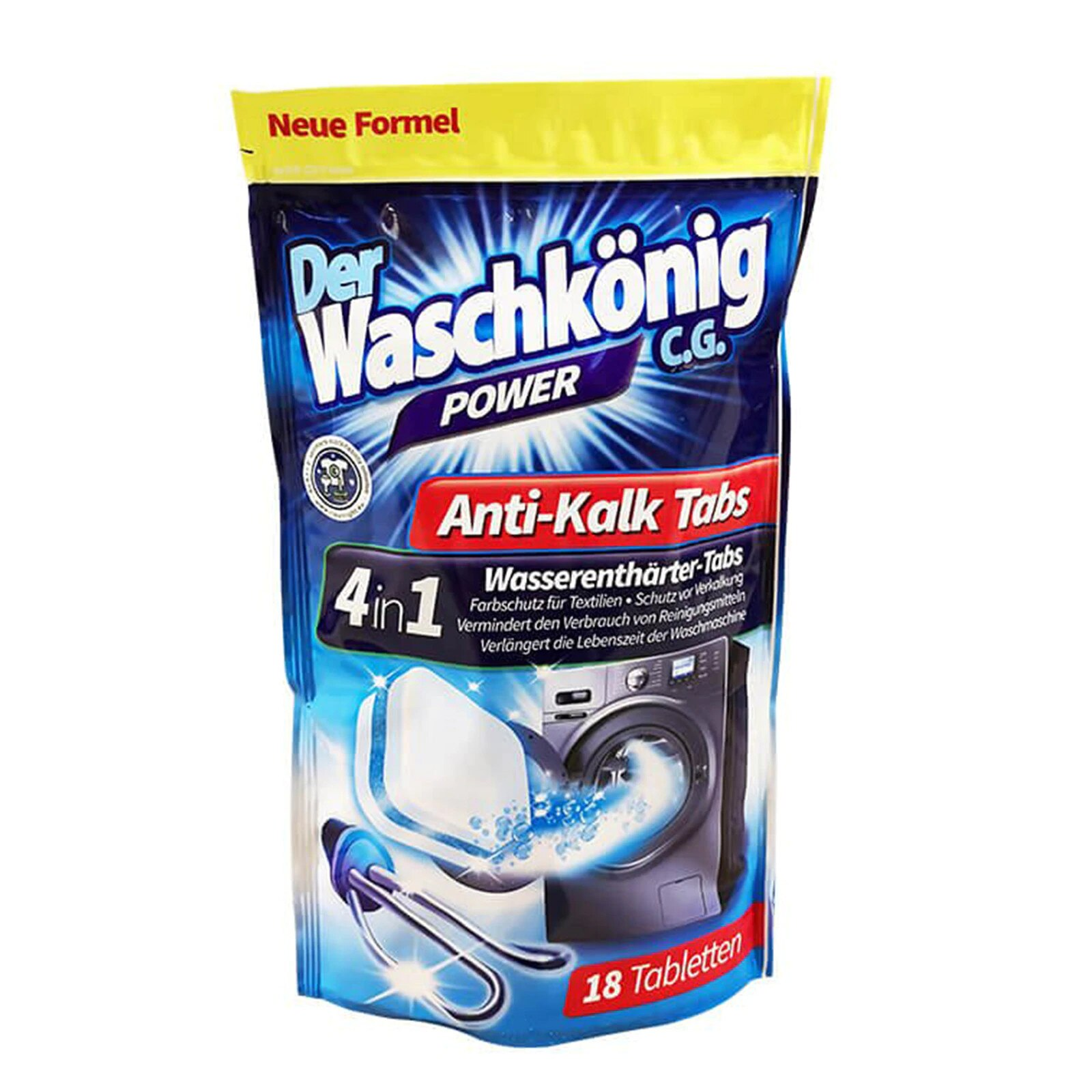 Washkonig Tablete Anticalcar 18 Buc sanito.ro