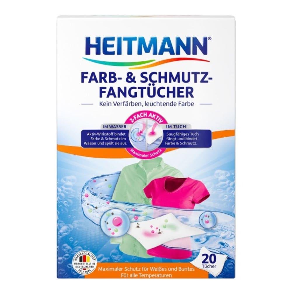 Heitmann Servetele Care Retin Pigmenti Culoare 20 Buc sanito.ro