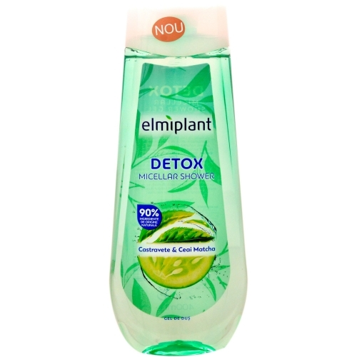 Elmiplant Gel Dus Detox Micellar 400 Ml 2021 sanito.ro