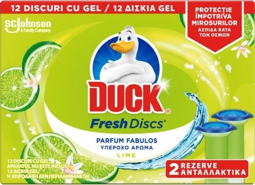 Duck Fresh Discs Twin Rez.Lime Zest sanito.ro