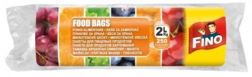 Fino Pungi Alimentare 2 L 250 Buc sanito.ro