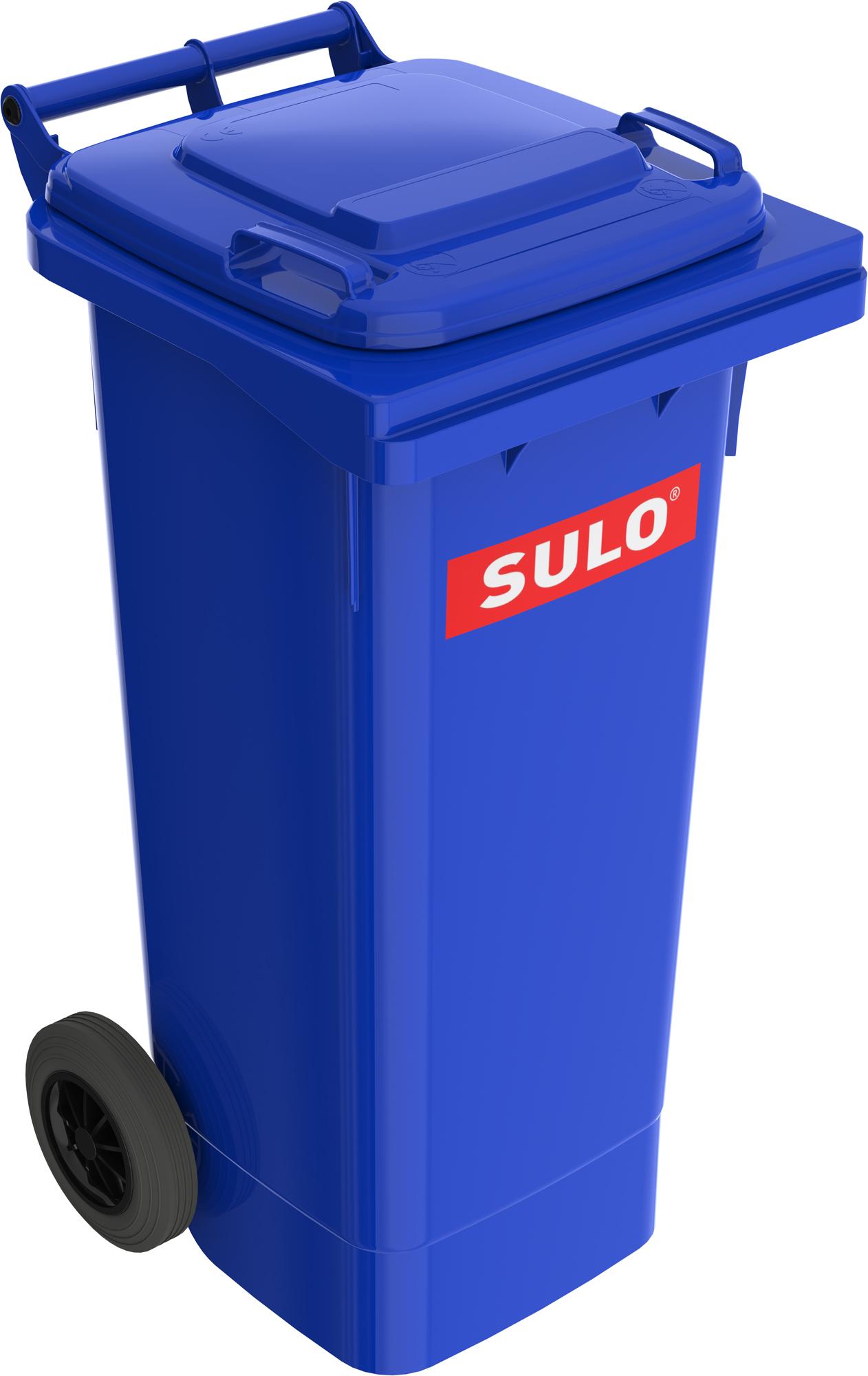 Europubela Din Material Plastic 80l Culoare Albastra Mevatec - Transport Inclus 2021 sanito.ro