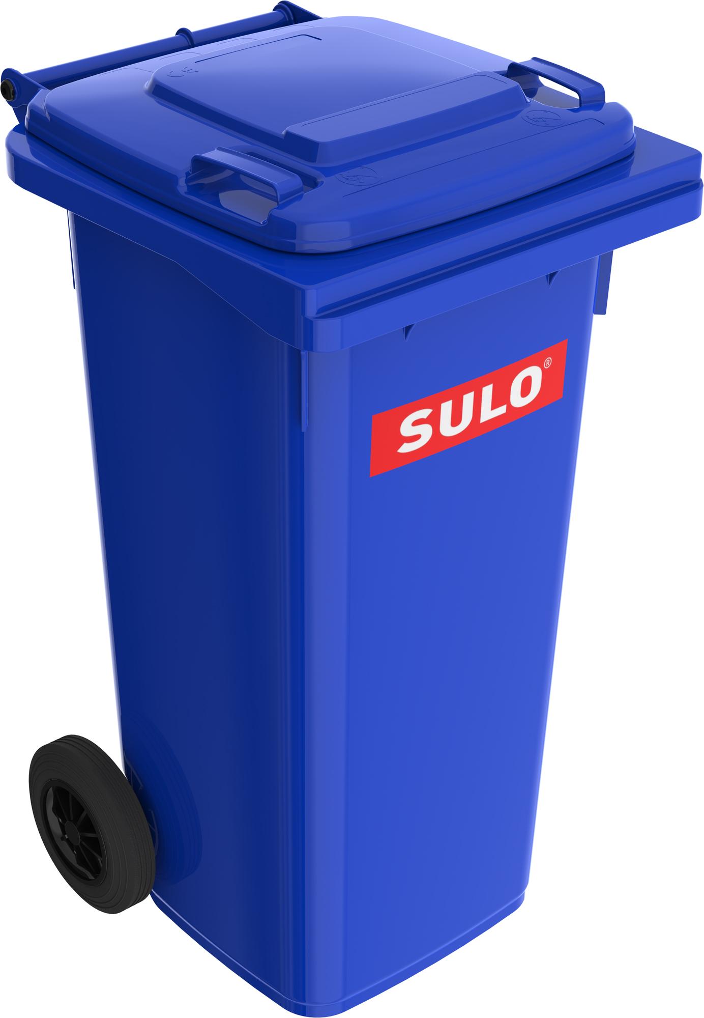 Europubela Din Material Plastic 240 L Culoare Albastra Mevatec - Transport Inclus 2021 sanito.ro