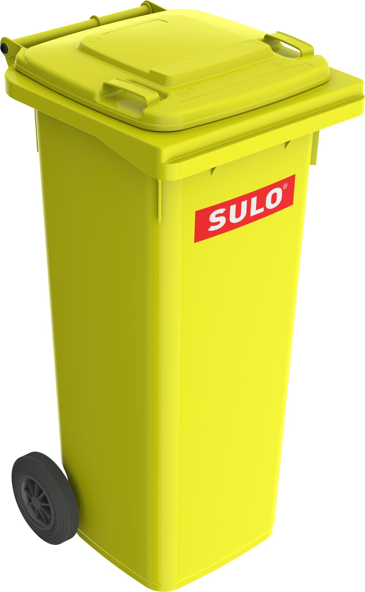 Europubela Din Material Plastic 140 L Culoare Galbena Mevatec - Transport Inclus 2021 sanito.ro