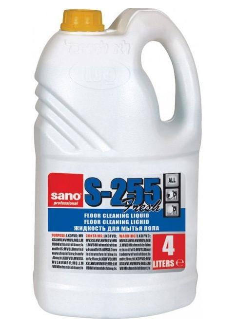Detergent Pardoseli Parfumat Sano Professional Floor S-255 Fresh 4l sanito.ro