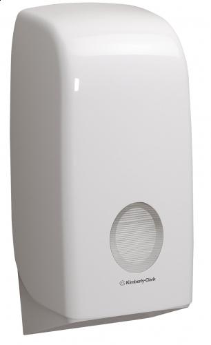 Dispenser Hartie Igienica Pliata Kimberly-Clark Aquarius sanito.ro