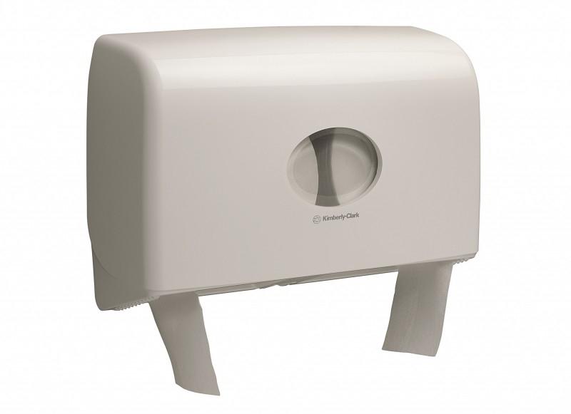 Dispenser Hartie Igienica Mini Jumbo Twin Kimberly-Clark Aquarius 2021 sanito.ro