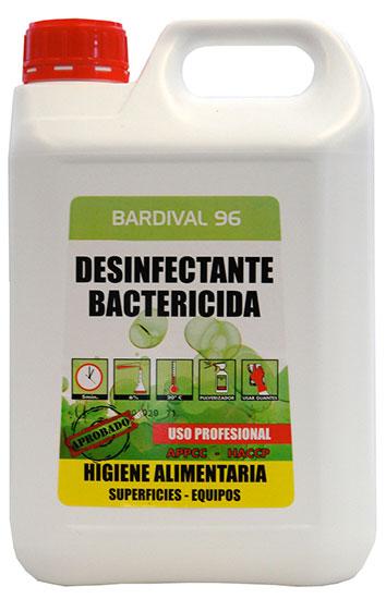 Bardival- Dezinfectant Bactericid De Suprafete 5l Asevi 2021 sanito.ro