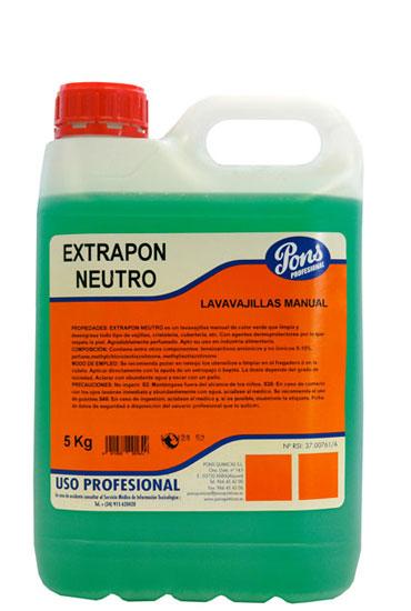 Extrapon Neutro-Detergent Pentru Spalarea Manuala A Vaselor 5l Asevi 2021 sanito.ro