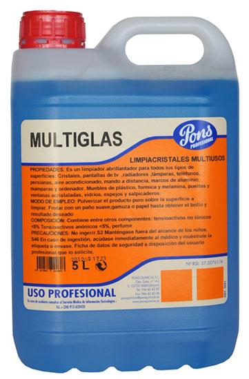 Multiglas-Detergent Profesional Universal Pentru Suprafete 5l Asevi sanito.ro