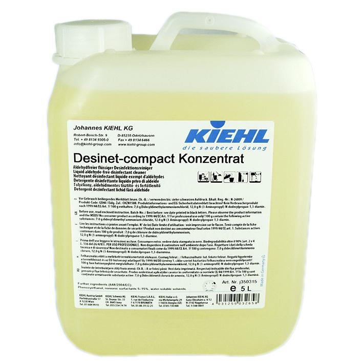 Desinet Compact Manual - Detergent Dezinfectant 5 L Kiehl sanito.ro