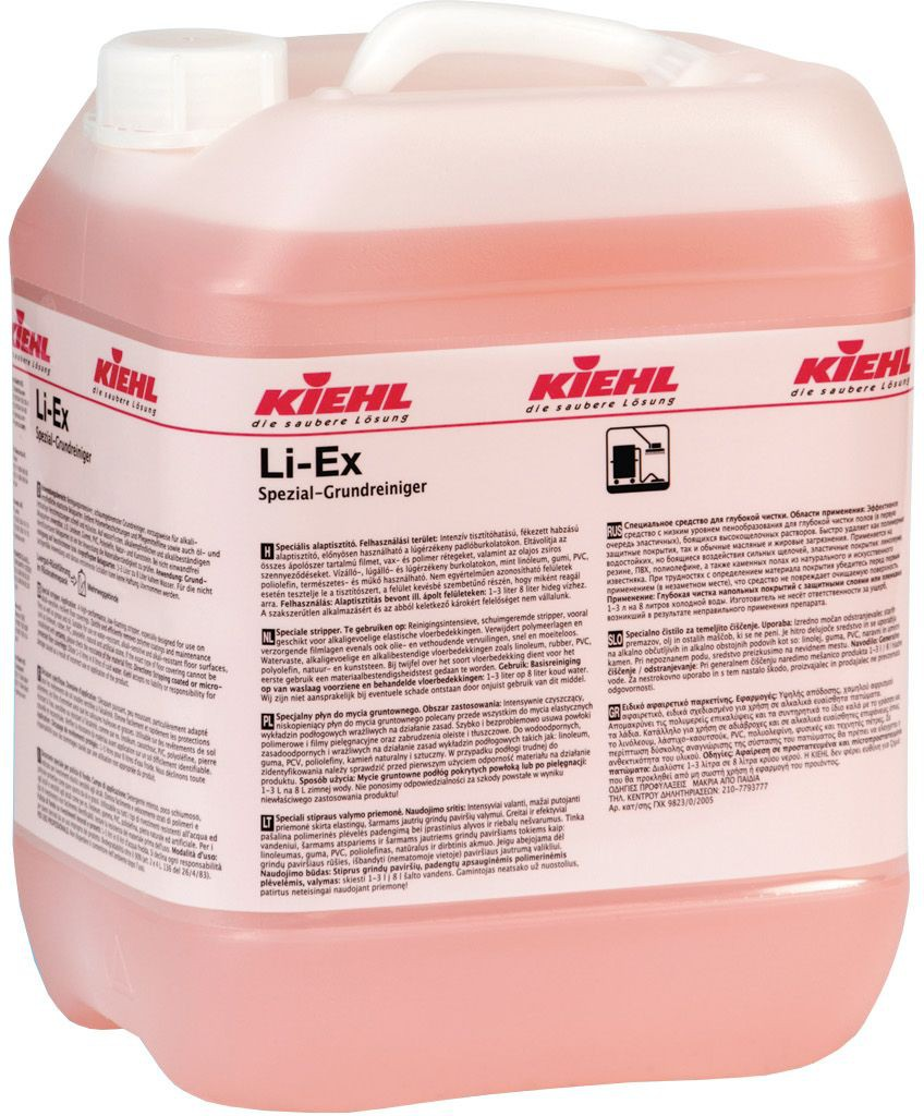 Li - Ex Automat - Detergent Decapant Pentru Piatra Naturala Si Artificiala Linoleum Poliolefina 10 L Kiehl 2021 sanito.ro