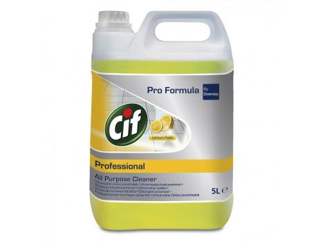 Detergent Universal Lemon Fresh Cif Professional 5l sanito.ro