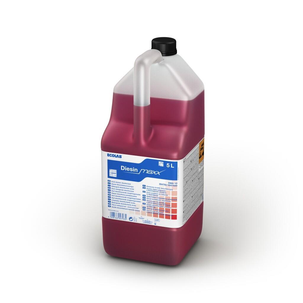 Detergent Igienizant Parfumat Pentru Grupul Sanitar Diesin Maxx 5l Ecolab sanito.ro