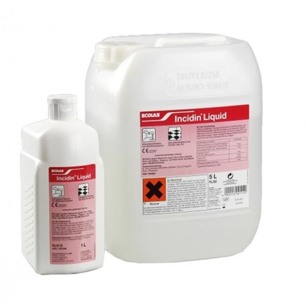 Incidin Liquid 600ml - Dezinfectia Rapida A Aparaturii Medicale Si A Suprafetelor 2021 sanito.ro