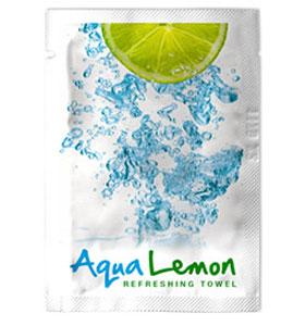 Servetel Umed Parfumat Aqua Lemon Fato sanito.ro