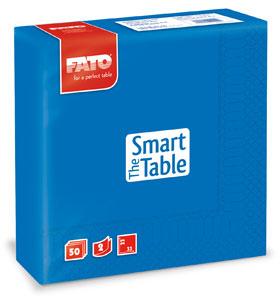Servetele 33x33 Cm 2 Straturi Smart Table Gentian Blue Fato sanito.ro