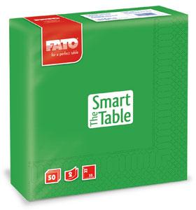 Servetele 33x33 Cm 2 Straturi Smart Table Emerald Green Fato sanito.ro