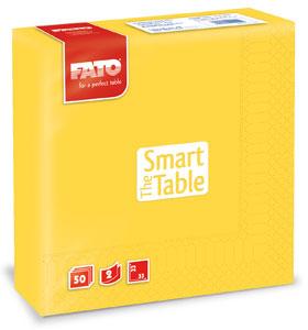 Servetele 33x33 Cm 2 Straturi Smart Table Lemon Fato sanito.ro