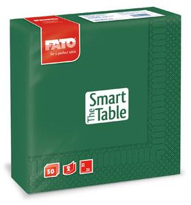Servetele 33x33 Cm 2 Straturi Smart Table Forest Green Fato sanito.ro