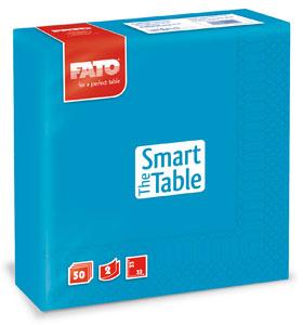 Servetele 33x33 Cm 2 Straturi Smart Table Turquoise Fato sanito.ro