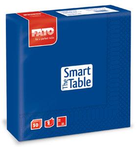 Servetele 33x33 Cm 2 Straturi Smart Table Dark Blue Fato sanito.ro