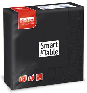 Servetele 33x33 Cm 2 Straturi Smart Table Black Fato sanito.ro
