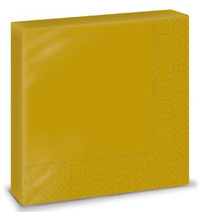 Servetele 33x33 Cm 2 Straturi Smart Table Gold Fato sanito.ro