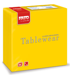 Servetele Din Airlaid 40x40 Cm Yellow Fato sanito.ro