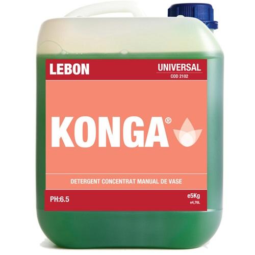 Detergent Universal De Vase Konga Universal 5 Litri - Manual 2021 sanito.ro