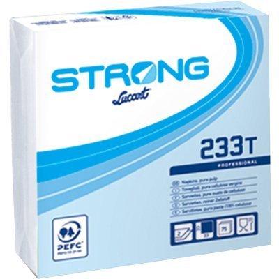 Servetele De Masa 2 Straturi 33x33 Cm Albe - Strong 233 T Lucart sanito.ro