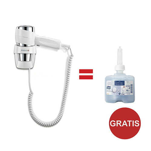 Pachet Uscator Par Valera Action Super Plus + Gratuit Sampon Si Gel De Dus Tork 2021 sanito.ro
