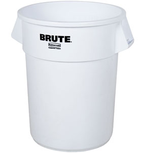 Container Rotund Brute 37.9 L Alb Rubbermaid sanito.ro