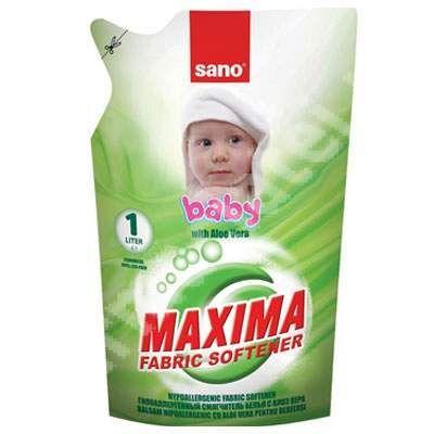 Sano Balsam Refill: Baby Aloe Vera 1l sanito.ro