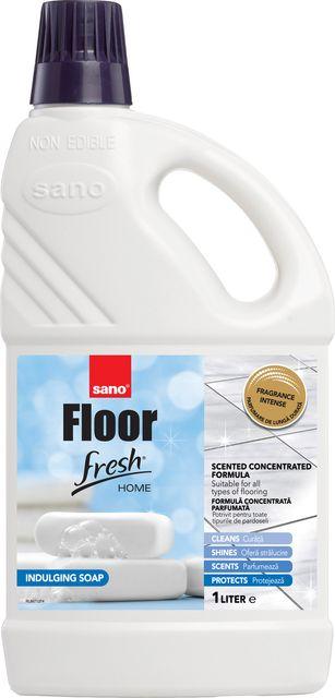 Sano Floor Fresh Home Soap Manual 1l Sticla Detergent Pardoseala sanito.ro